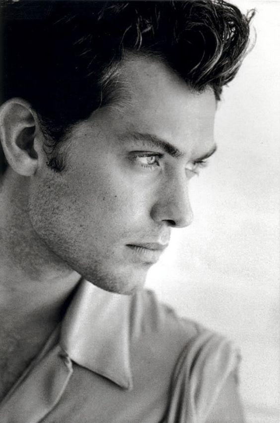 "Images of young Jude Law in an issue of ""Vanity Fair"" ended up helping me write about John.:"