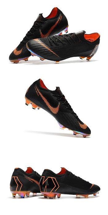 Nike World Cup 2018 Mercurial Vapor Xii Fg Boots Black Orange Cool Football Boots Football Boots Nike World