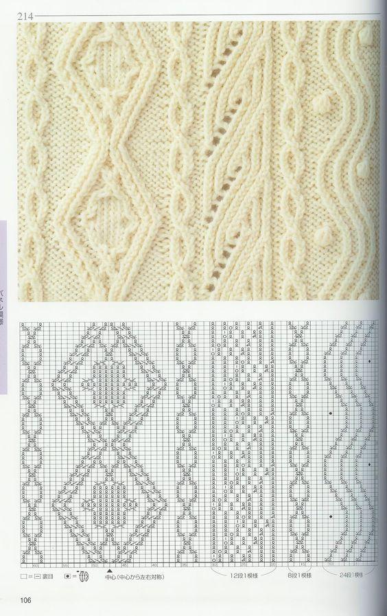 Trico Croche & Artesanato: Revista Pontos em Tricô E Gráficos