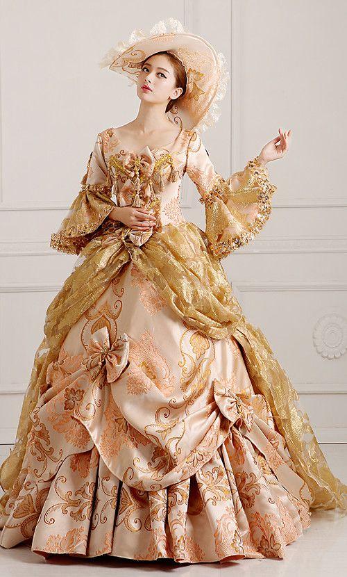 Lady Renaissance Victorian Old West Princess Dress Ball Gown Dance Party Costume