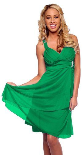 New Sexy Empire Waist Evening Prom Cocktail Party Dress