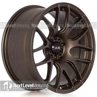 Xxr Wheels 530 18x875 5x1005x1143 Matte Bronze Rims Et33