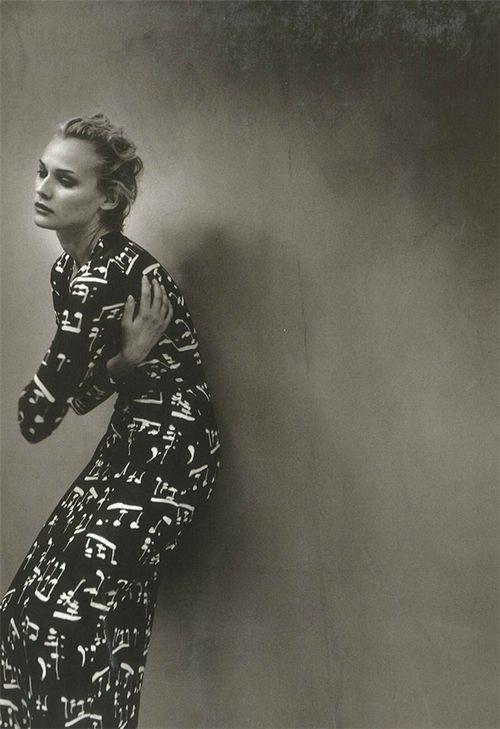 Diane Kruger: Girl Fashion, Fashion Photography, Blackandwhite Photography, Kruger Girlskickass