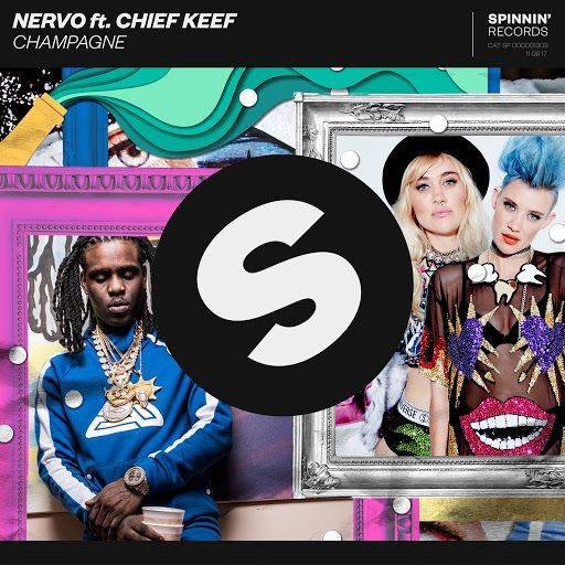 Nervo, Chief Keef – Champagne (single cover art)