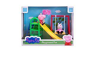 Amazon.com: Peppa Pig Playground Fun Playset with Peppa Pig & Suzy Sheep: Toys & Games