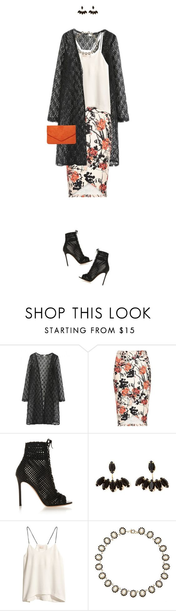 """""""Pack and Go: Milan"""" by xo-kallio ❤ liked on Polyvore featuring River Island, Gianvito Rossi, H&M, Givenchy, Dorothy Perkins, fashionWeek, Packandgo and spring2016"""