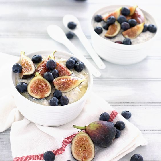 Overnight oatmeal, Figs and Oatmeal on Pinterest