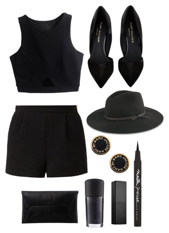 """ten"" by talktoplants ❤ liked on Polyvore featuring Kurt Geiger, rag & bone, Maybelline, Marc by Marc Jacobs, Lost Society, MAC Cosmetics and NARS Cosmetics"