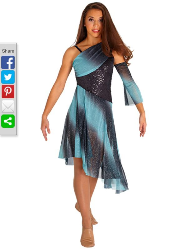 Color guard dresses in stock
