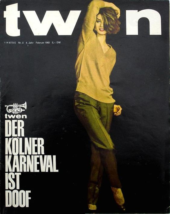 By Robin Benson / Editor, Past Printtwen was a unique German magazine aimed at young adults. Started in 1959 as...
