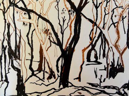 bushfire art ideas - Google Search