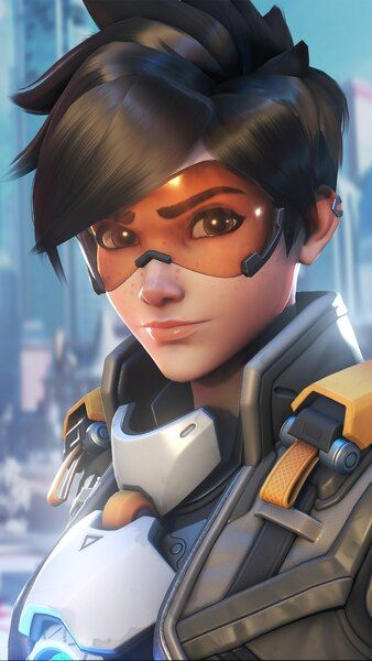 Overwatch 2 Tracer 4k Hd Mobile Smartphone And Pc Desktop Laptop Wallpaper 3840x2160 1920x1080 21 Overwatch Posters Overwatch Tracer Overwatch Wallpapers
