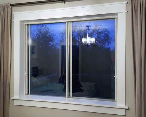 Craftsmen Window Trim With Fillet And Cap Craftsman Style Doors Craftsman Window Trim Craftsman Windows