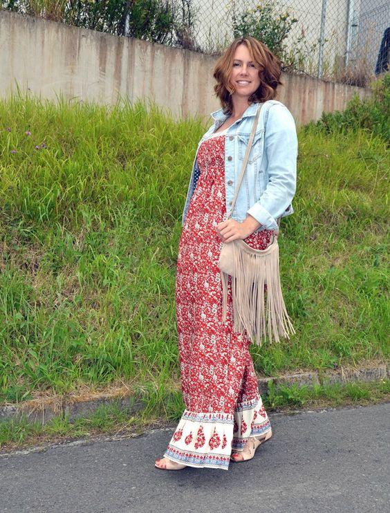 Look informal con vestido largo de Primark y sandalias romanas de Zara  www.yohanasant.es Personal Shopper en Asturias #Look #PersonalShopper