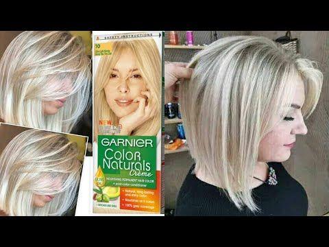 تحصلي على اشقر فاتح ثلجي بصبغة واحدة غارنييه نصائح وخطوات مهمة Youtube Hair Styles Long Hair Styles Hair
