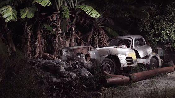 Abandoned Mercedes 300SL found in Cuba - BBC Top Gear