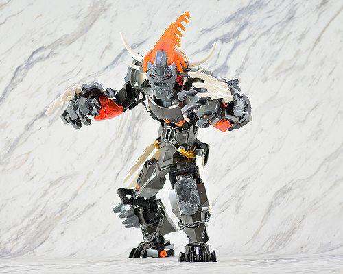 complete LEGO Bionicle Hero Factory Villains 44005 Bruizer