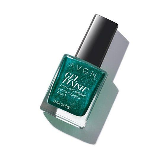 Gel Finish 7 In 1 Nail Enamel Gel Nails At Home Avon Nails Gel