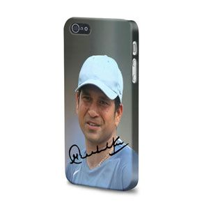 Sachin Tendulkar Signature iPhone 5 Mobile Case