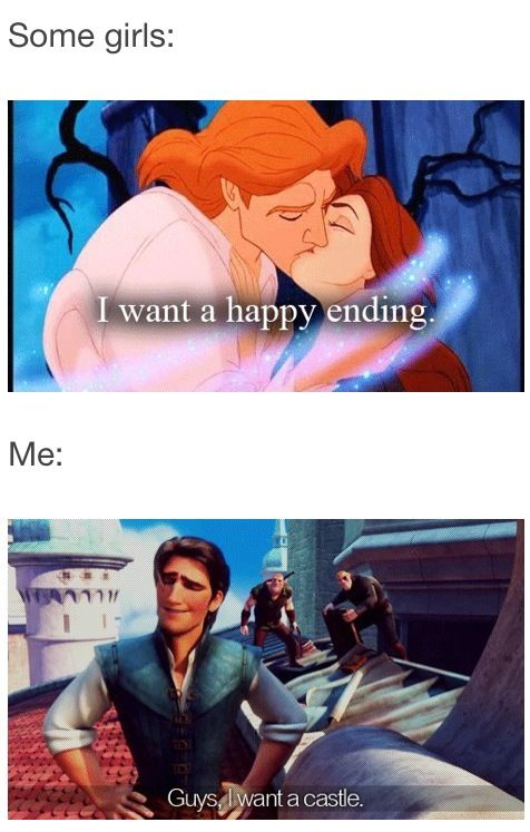 And this is why I LOVE Flynn Ryder. Because he thinks like me.