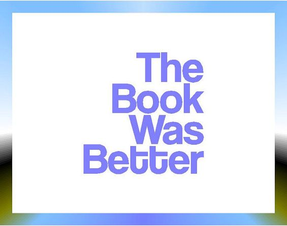 Book Snob Decal  The Book Was Better  by StickItStickers on Etsy, $5.00