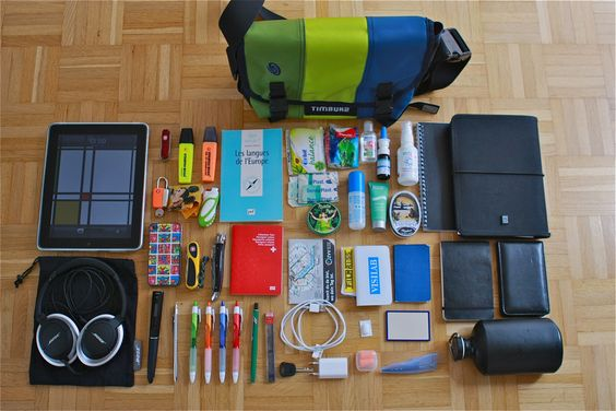 40 travel accessories that will prepare you for anything - I keep a good number of these things in my purse... oh dear.
