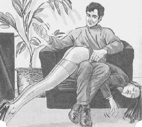 this a long slow steady spanking  s   tumblr   search spanking art spanking art