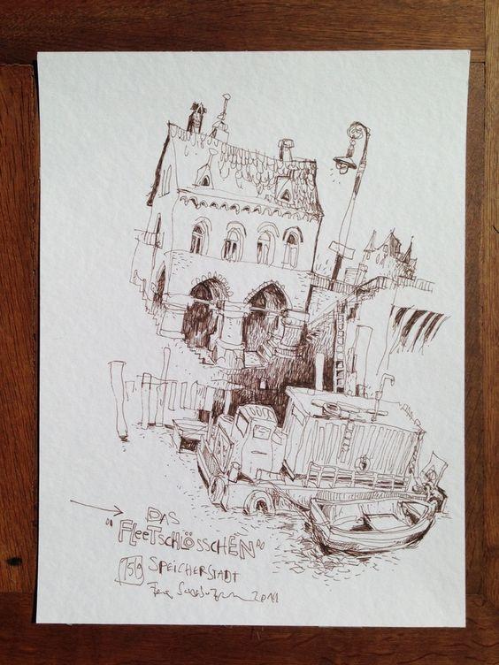 Zeichnung / drawing40x30 cm