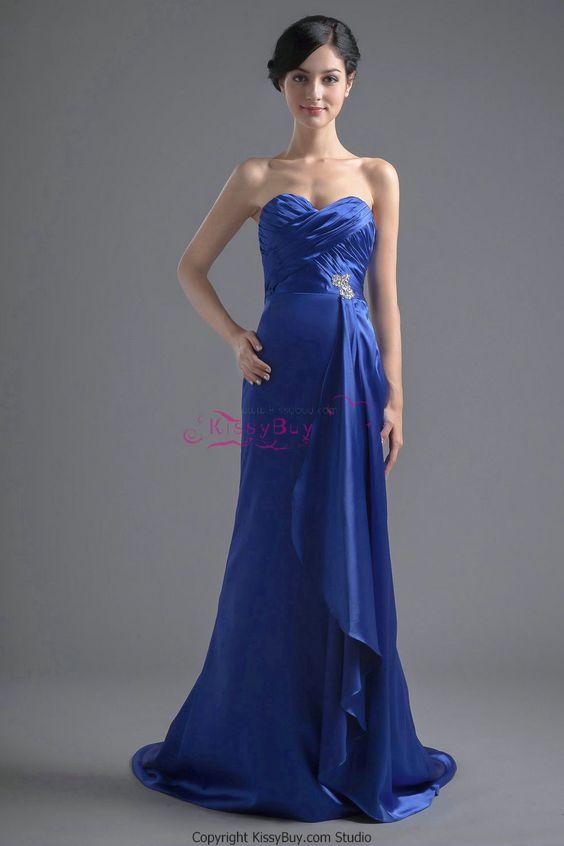 blue evening dresses - Google Search