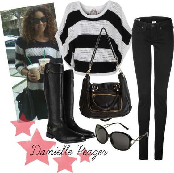Danielle Peazer Inspired Fashion, created by abbytamase on Polyvore