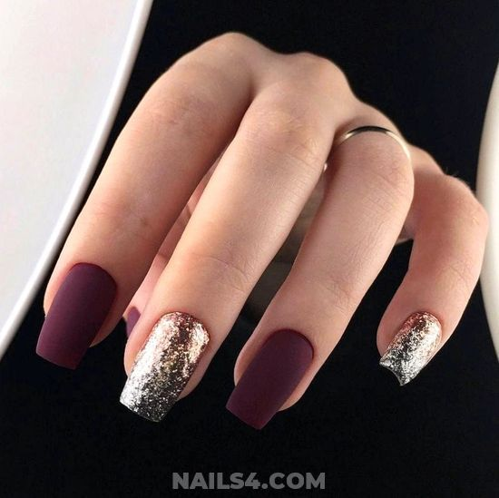 15 Cutest Party Nail Art Designs Nailart Party Elegant Glamour Nailideas Nails Glamour Dreamy Acrylic Manic Matte Nails Design Elegant Nails Red Nails