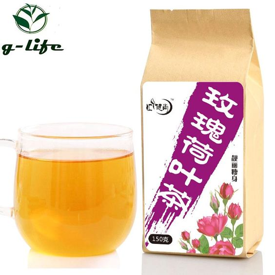 Rose Lotus Leaf Beauty Slimming Tea Bag Weight Loss Health Care Burning Fat Slim Chinese Slimming
