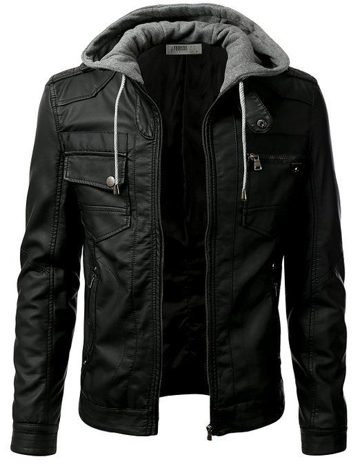 Comfy, warm, stylish and sexy. Great winter jacket for a guy ...