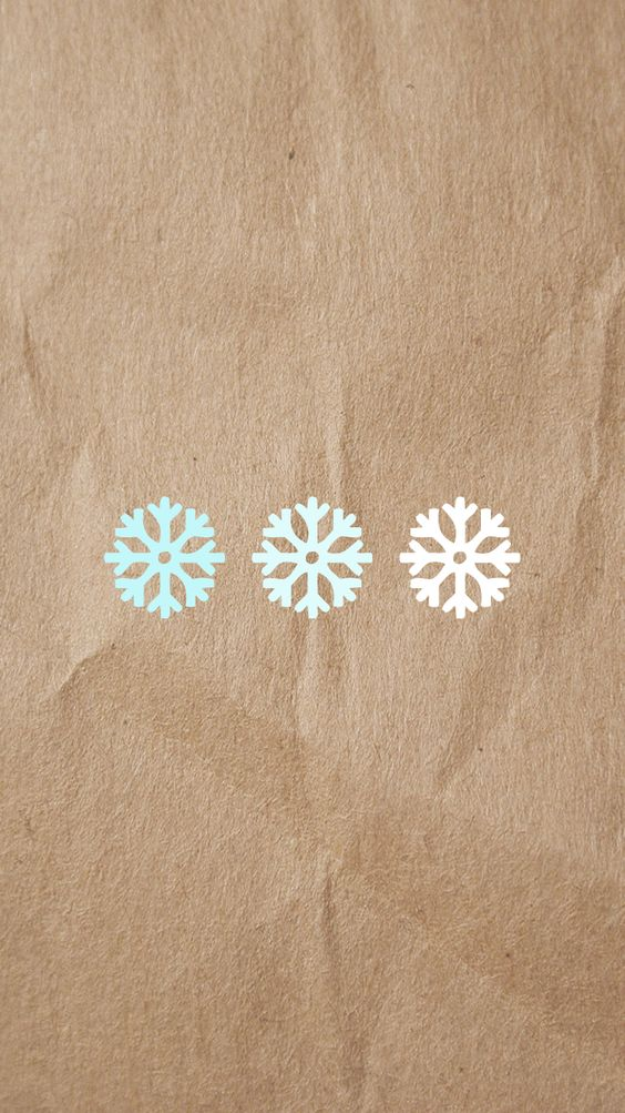 Baby blue ombre snowflake iPhone 6s wallpaper background