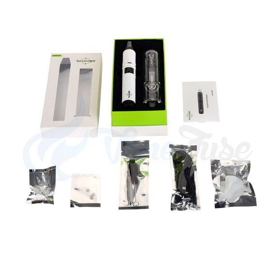 Focusvape Pro portable vaporizer with Bubbler Kit