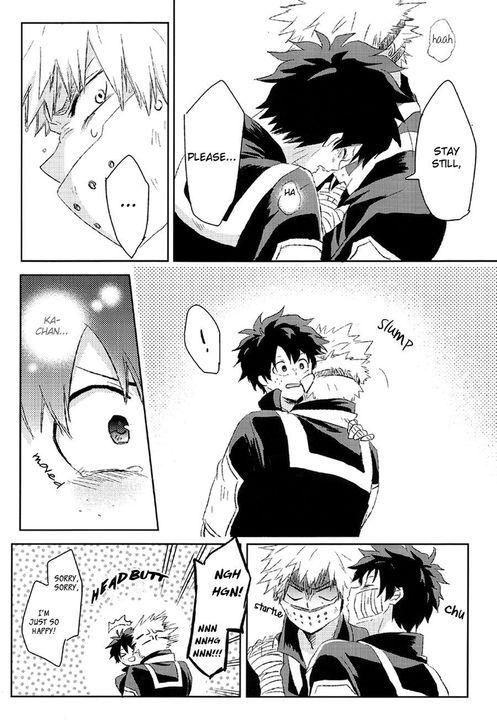 Doujinshis Boku No Hero Academia 24 Restrict Egoist Part2