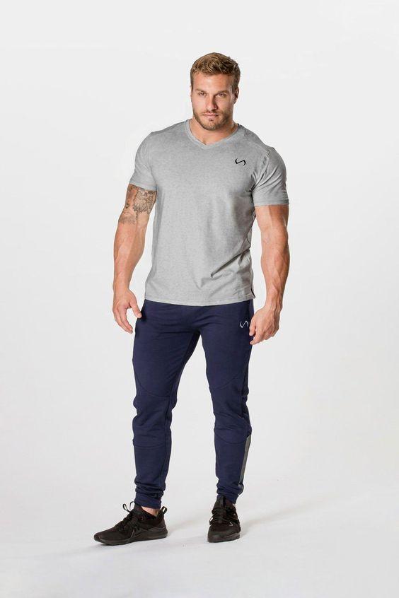 calça moletom masculina estilo esportivo 2