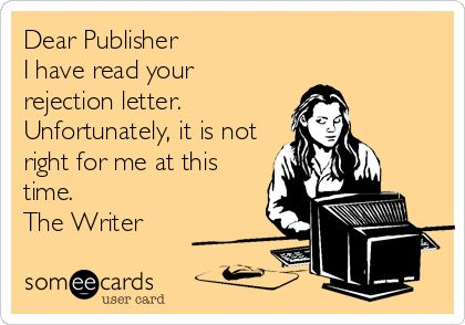 Writer Rejects Publisher: