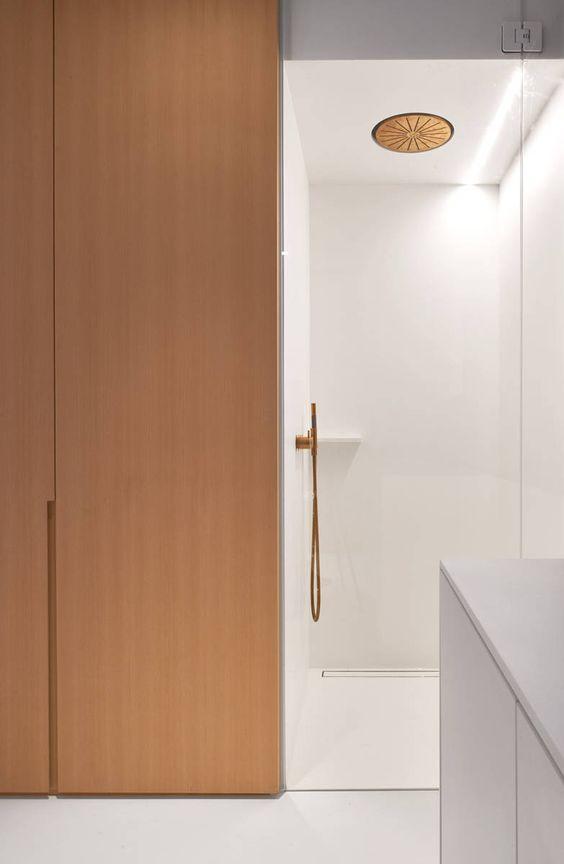 VOLA taps in copper Lovely: copper tapware