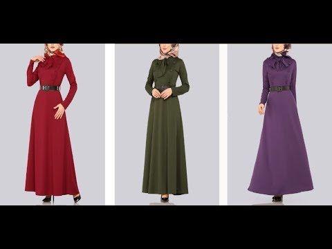 فستان تركي شيك سهل على المبتدئين الباترون الفصالة والخياطة Youtube Dresses Wedding Dresses Fashion