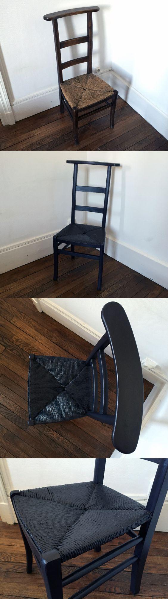 Chaise tressée remise au goût du jour ! / Plaited chair back into fashion !  By Pierre-Louis Labonne.
