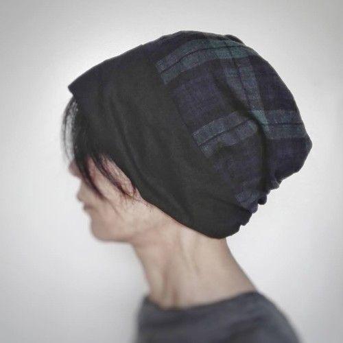 ターバンな帽子 ネイビー ダンガリーb ダンガリー 帽子 ネイビー