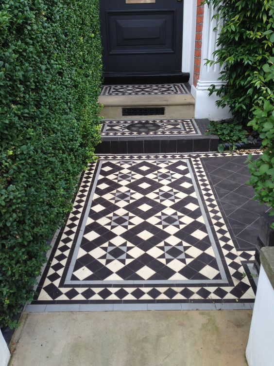 Create the Downton Abbey look in your home or garden with the introduction of some stylish and affordable Victorian Tiles... https://www.wallsandfloors.co.uk/category/victorian-tiles/