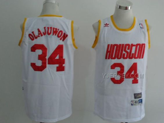 http://www.yjersey.com/nba-houston-rockets-34-olajuwon-white-2012-jerseys.html #NBA HOUSTON #ROCKETS 34 OLAJUWON WHITE 2012 JERSEYSOnly$34.00  Free Shipping!