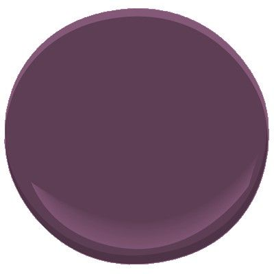 Potential color for my office – Benjamin Moore, Autumn Plum