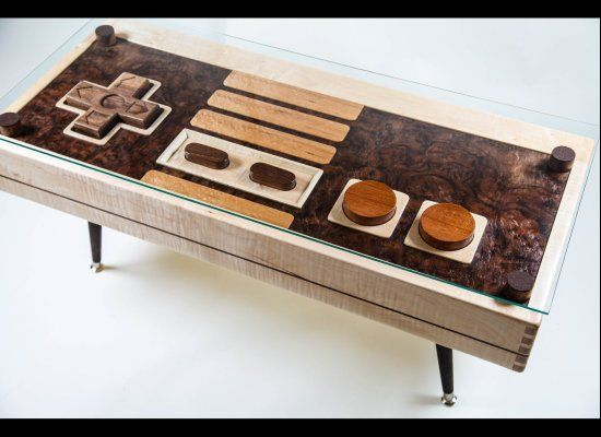 Looks great until you try to plug it! Nintendo Controller Coffee Table Doubles As Functional Controller