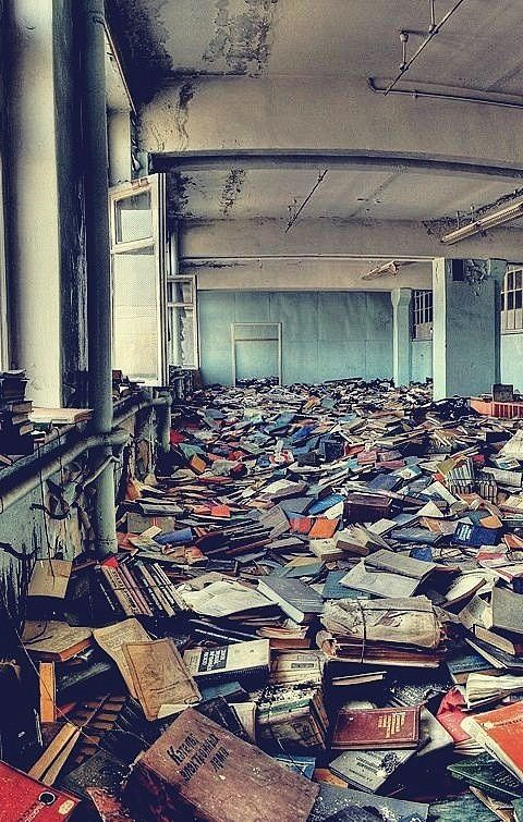 I want my home to be full of old Russian books!