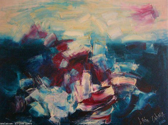 Artwork >> Lyuba Zahova >> The Wave III