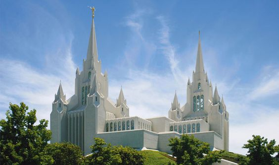 The San Diego Temple - the most beautiful Temple I've seen.