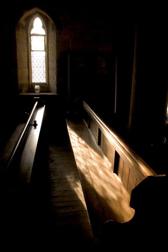 Old church pews: